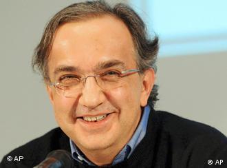 Глава Fiat Серджио Маркионне