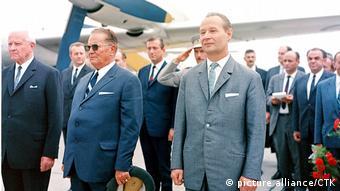 Ο Τίτο, ιδρυτής της ομόσπονδης Γιουγκοσλαβίας, ήταν ένας από τους λίγους Ανατολικοευρωπαίους που στήριξαν τον Αλεξάντερ Ντούμπτσεκ