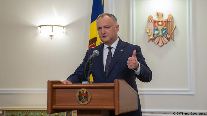 Republik Moldau Präsident Igor Dodon