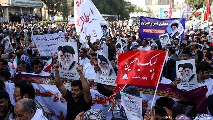 Iran Demonstration für die Regierung