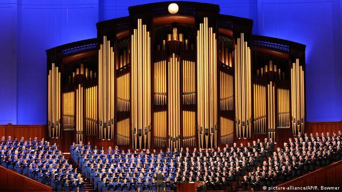 USA Mormonen in Utah - Konferenz in Salt Lake City (picture-alliance/AP/R. Bowmer)
