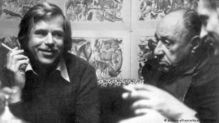 Prag 1968- Vaclav Havel und Frantisek Kriegel