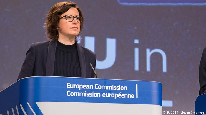 Catherine Ray, Spokesperson for EU Foreign Affairs & Security Policy (EU 2015 - Lieven Creemers)