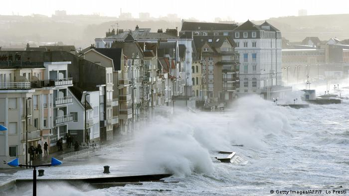 Storm Eleanor in France