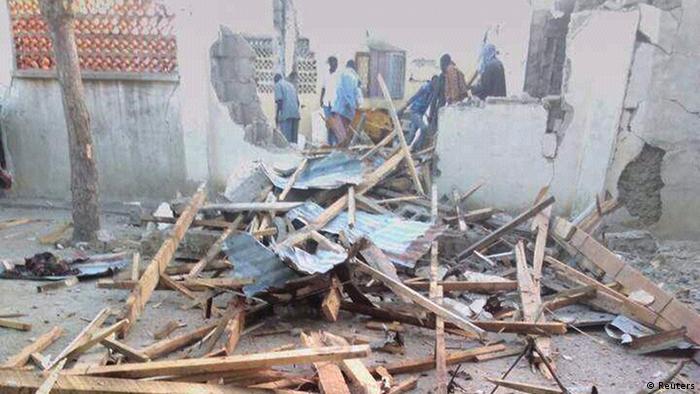Nigeria mosque rubble