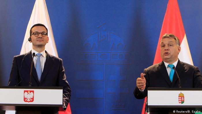 Ungarn - Werden jegliche EU-Strafmaßnahme gegen Polen blockieren