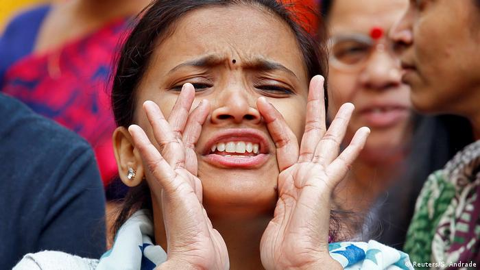 Indien Mumbai Dalit Proteste (Reuters/S. Andrade)