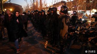 Iran Protest Sicherheitskräfte