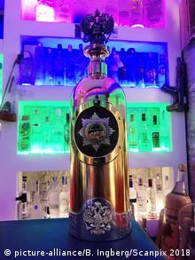 World's most expensive vodka bottle