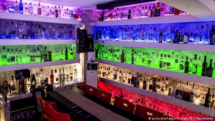 Cafe 33 bar in Copenhagen, Denmark