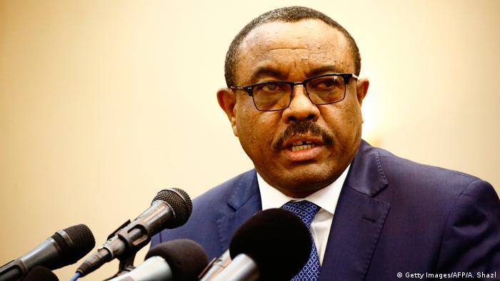 Äthiopien kündigt Freilassung politischer Gefangenen an | Hailemariam Desalegn Desalegn (Getty Images/AFP/A. Shazl)