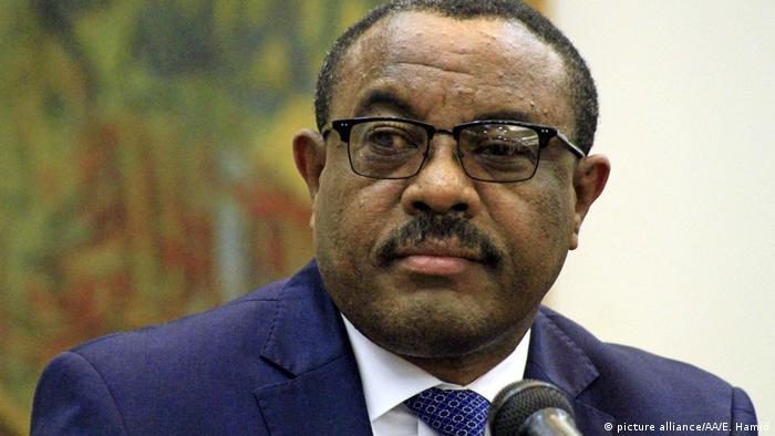 Äthiopien kündigt Freilassung politischer Gefangenen an | Hailemariam Desalegn Desalegn (picture alliance/AA/E. Hamid)