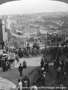 Britischer Feldmarschall Allenby zieht in Jerusalem ein - Erster Weltkrieg (picture-alliance/Heritage Images)