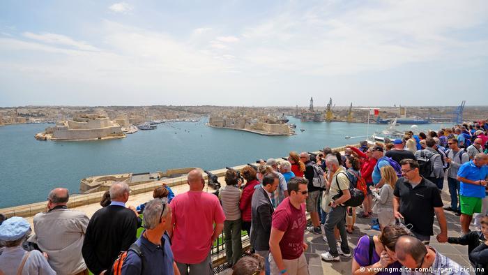Bildergalerie Malta Valetta Saluting Battery (viewingmalta.com/Jürgen Scicluna )