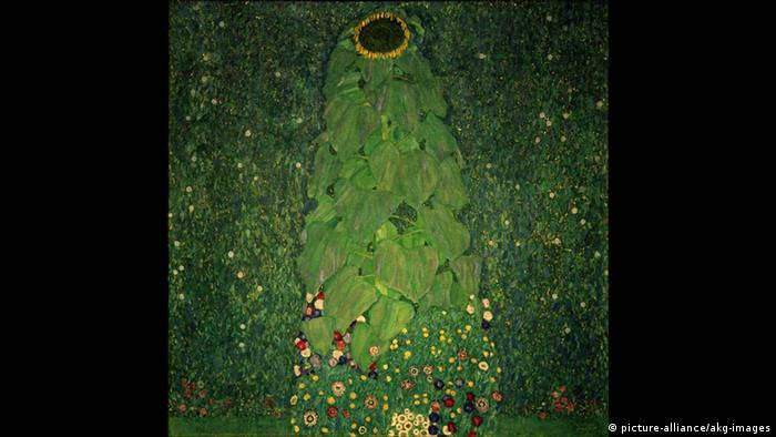 Gustav Klimts Die Sonnenblume (picture-alliance/akg-images)
