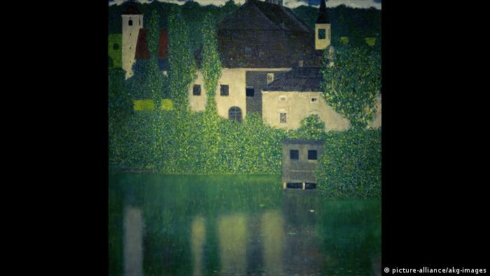 Gustav Klimt - Schloß Kammer am Attersee I (picture-alliance/akg-images)
