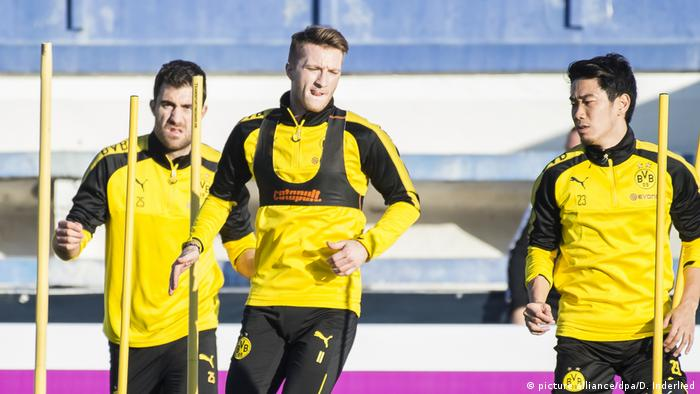 Spanien Trainingslager Borussia Dortmund in Marbella (picture alliance/dpa/D. Inderlied)