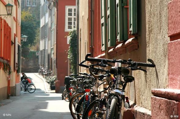 Велосипеды - популярное средство передвижения в любом студенческом городе