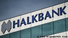 Halkbank Schriftzug Logo