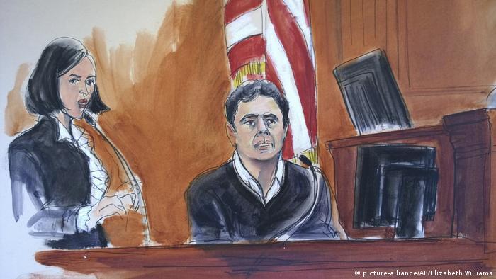 New York Prozess Banker Hakan Atilla (picture-alliance/AP/Elizabeth Williams)