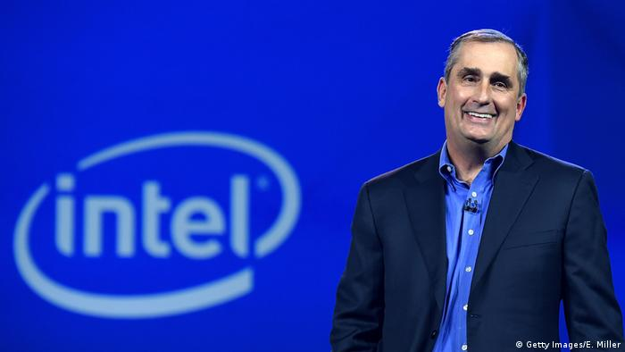 Intel CEO Brian Krzanich (Getty Images/E. Miller)