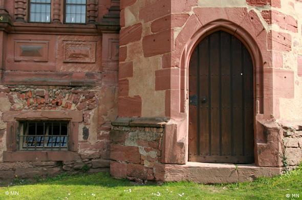 Дверь в башню Оттхайнрихсбау