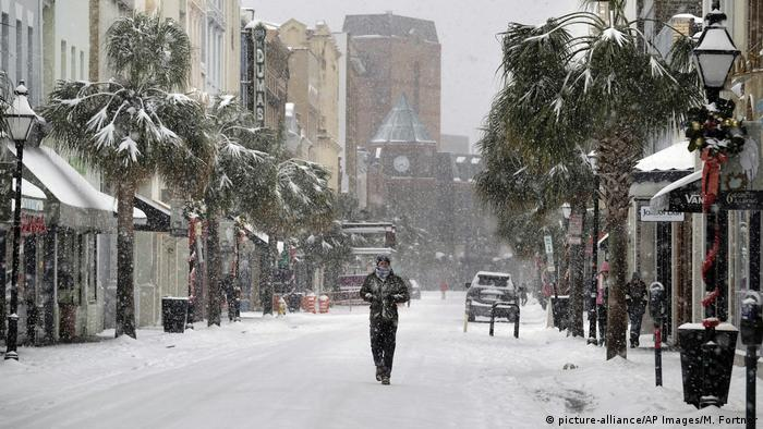 USA Winter - Charleston in South Carolina (picture alliance/AP Images/M. Fortner)
