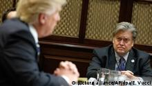 Donald Trump und Stephen Bannon