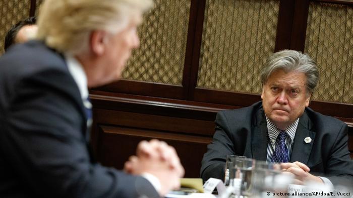 Donald Trump und Stephen Bannon