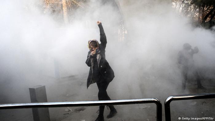 Iran - Proteste (Getty Images/AFP/Str)