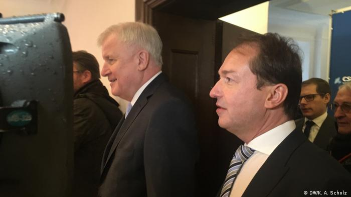 Horst Seehofer and Alexander Dobrindt