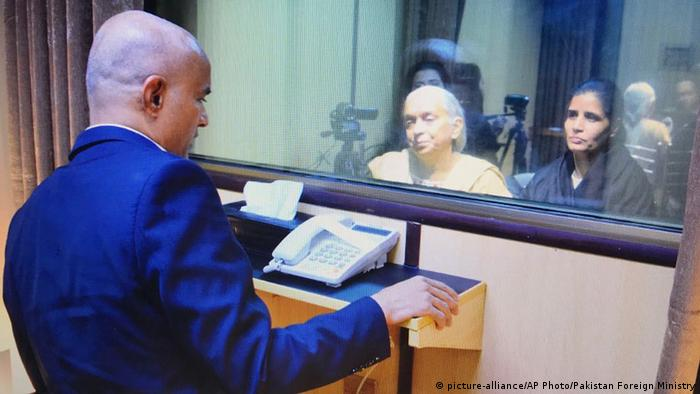 Pakistan Kulbhushan Jadhav (picture-alliance/AP Photo/Pakistan Foreign Ministry)
