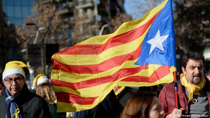 Catalan flag (Getty Images/AFP/J. Lago)