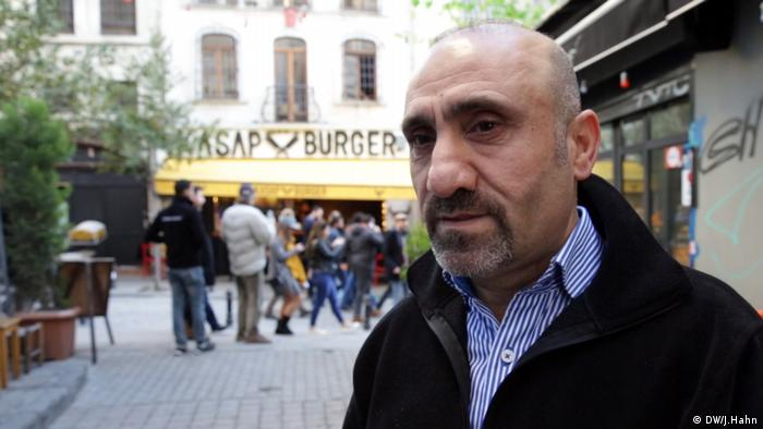 Türkei, Infaltion in Istanbul (DW/J.Hahn)