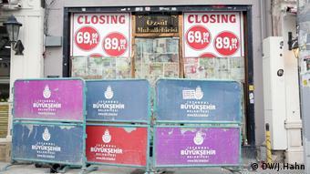 Η κρίση της τουρκικής οικονομίας έχει αναγκάσει επιχειρήσεις στη χώρα να βάλουν λουκέτο