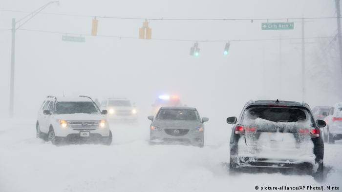 USA Winter | Delaware (picture-alliance/AP Photo/J. Minto)