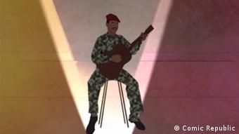 DW Videostill Projekt African Roots | Thomas Sankara, Burkina Faso (Comic Republic)