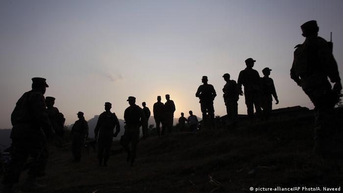 Pakistan Soldaten in Tatta Pani
