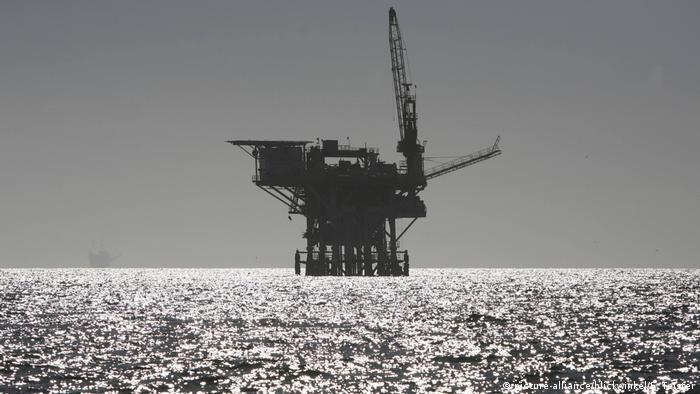 USA Ölplattform vor der Küste Kaliforniens