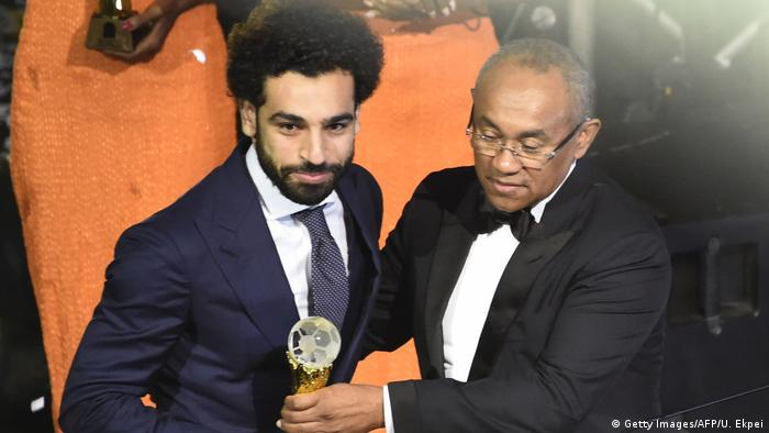 Ghana Fußballer Mohamed Salah in Accra (Getty Images/AFP/U. Ekpei)