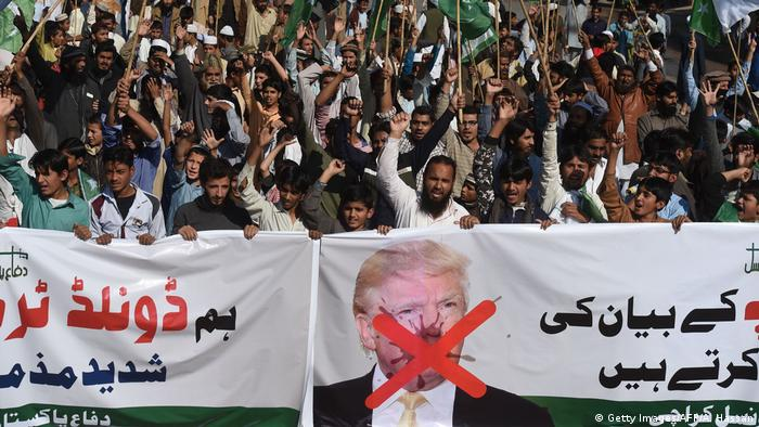 Pakistan Anti-USA-Proteste in Karatschi (Getty Images/AFP/A. Hassan)