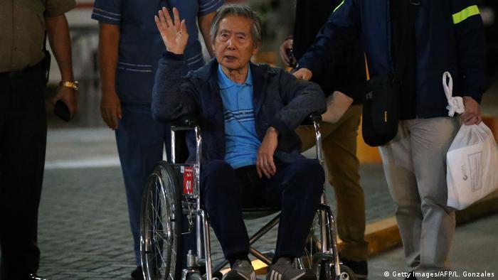 Peru Alberto Fujimori aus Klinik entlassen (Getty Images/AFP/L. Gonzales)