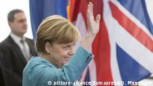 July 19, 2017 - Berlin, Germany - German Chancellor Angela Merkel welcomes the British Prince William, Duke of Cambridge joined by his wife Catherine, The Duchess of Cambridge in the German Chancellery in Berlin on July 19, 2017 |
