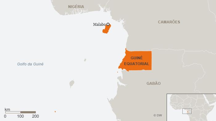 Karte Äquatorialguinea POR