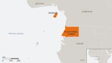 Karte Äquatorialguinea DEU