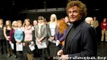 Regisseur Dieter Wedel beim Casting