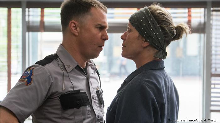 Film still from 'Three Billboards Outside Ebbing, Missouri' (picture-alliance/dpa/M. Morton)