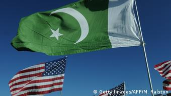 Flagge Pakistan und USA