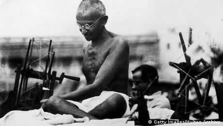 Indien Mahatma Gandhi 1925 (Getty Images/Hulton Archive)