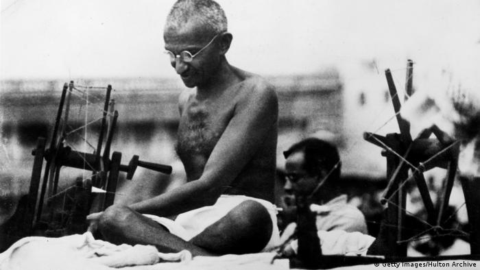 Indien Mahatma Gandhi 1925 (Getty Images/Hulton Archive)